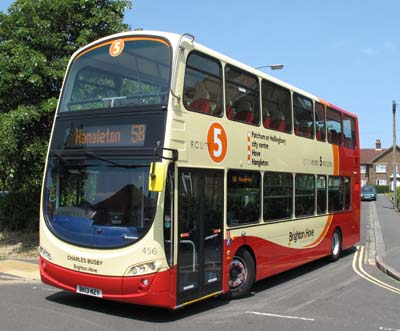 Brighton Amp Hove Bus And Coach Company Limited